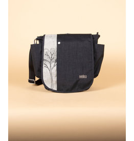 Haiku To Go Convertible Messenger - Black Morel