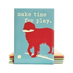 Dog Is Good Magnet: Make Time for Play