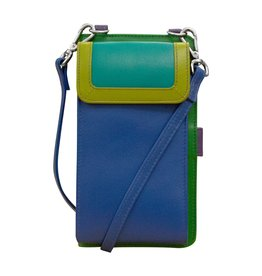 Leather Handbags and Accessories 6363 Cool Tropics - RFID Organizer Crossbody