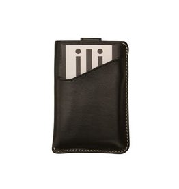 Leather Handbags and Accessories 6416 Black - RFID Pull Out CC Holder
