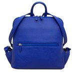 Leather Handbags and Accessories 6503 Cobalt - Small Backpack