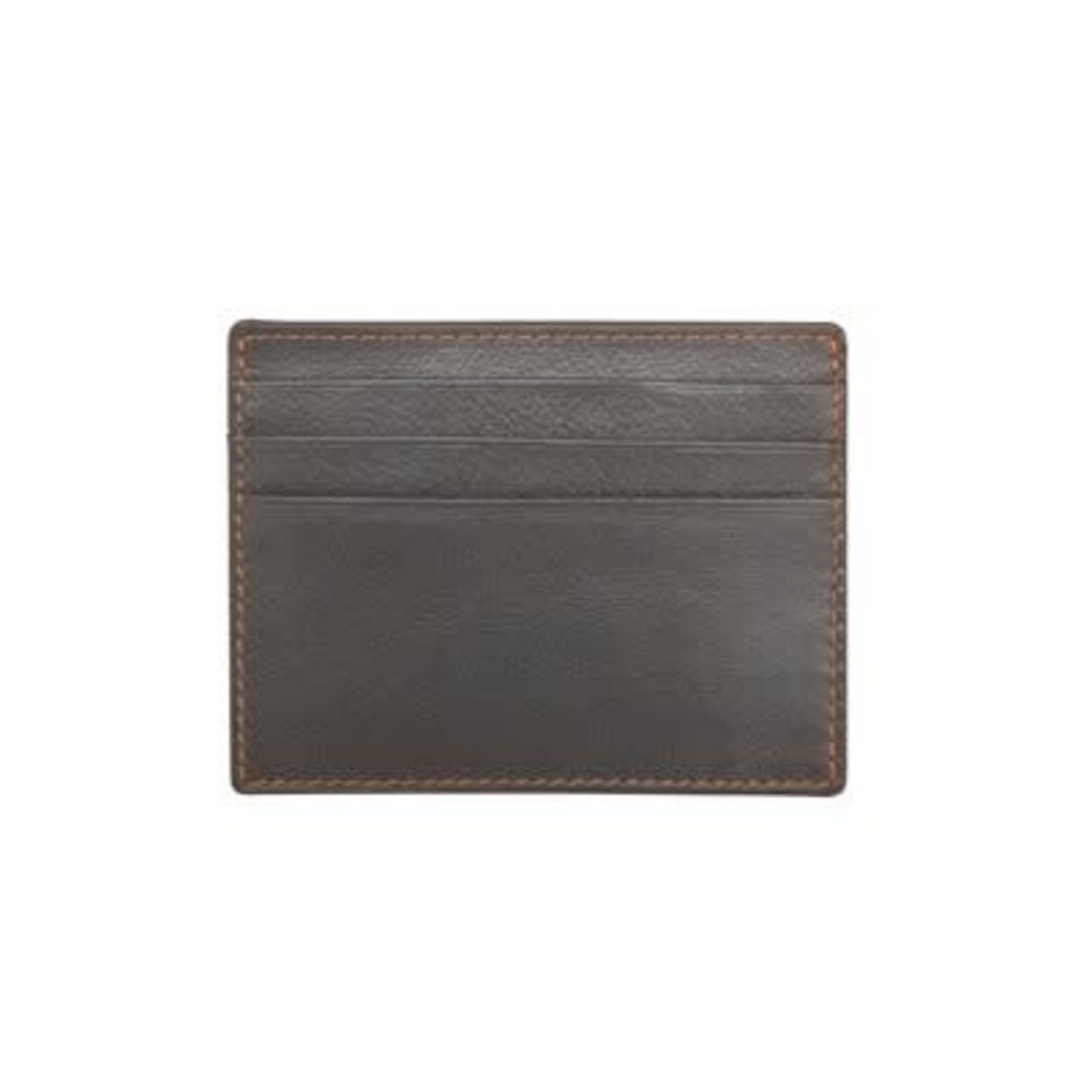 Leather Handbags and Accessories 7202 Grey - RFID Mini Card Holder