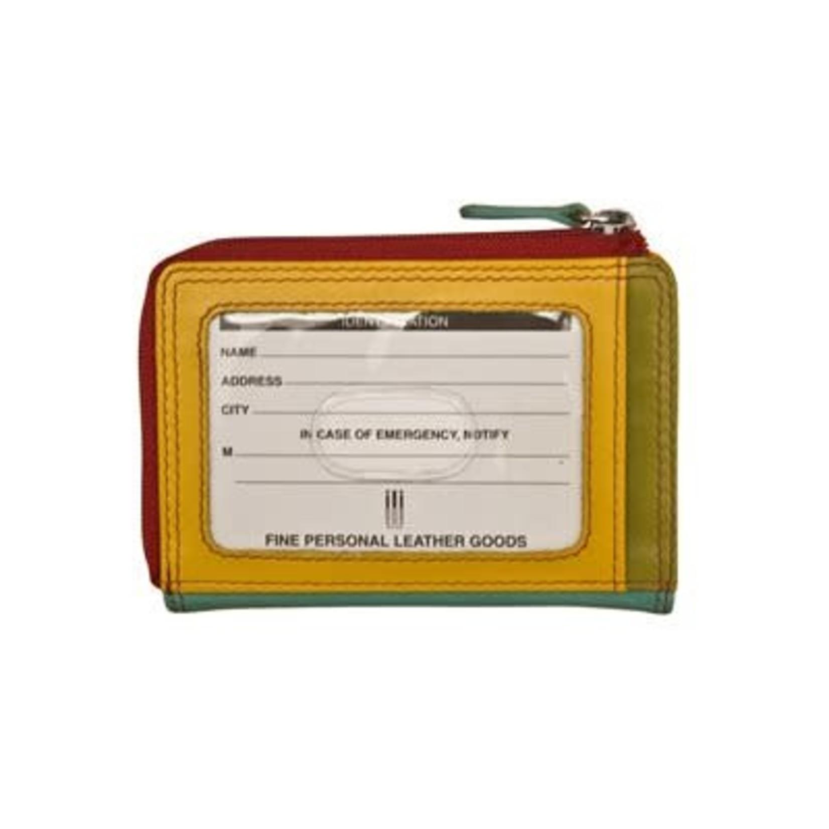Leather Handbags and Accessories 7411 Citrus - RFID CC ID Holder