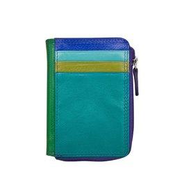 Leather Handbags and Accessories 7411 Cool Tropics - RFID CC ID Holder