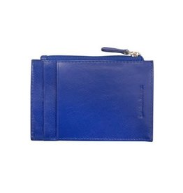 Leather Handbags and Accessories 7416 Cobalt - RFID Card Holder