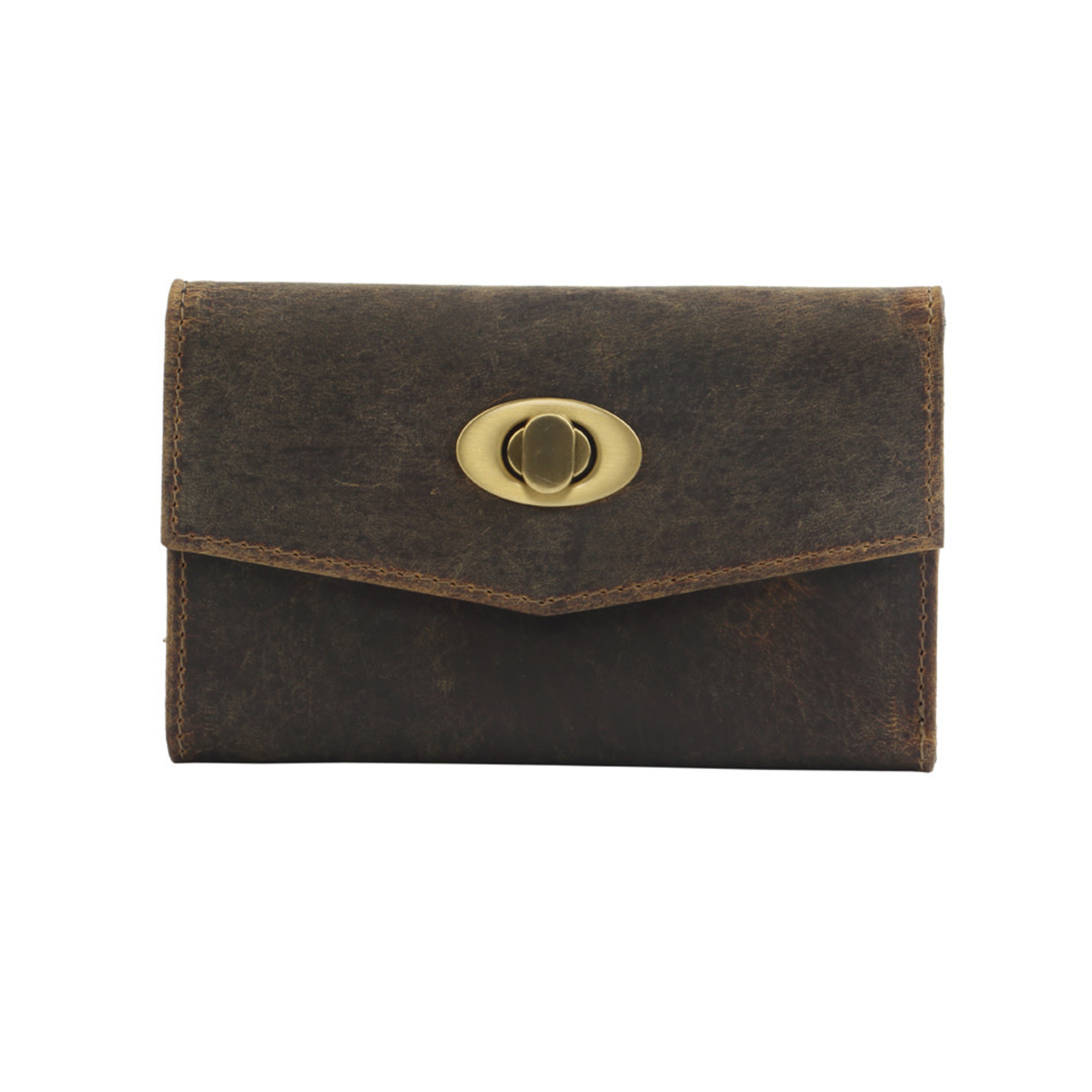 Myra Bags S-2726 Dawn to Dusk Leather Wallet