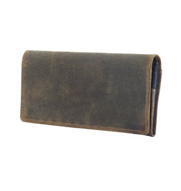 Myra Bags S-2686 Woods Wanderer Leather & Hairon Wallet