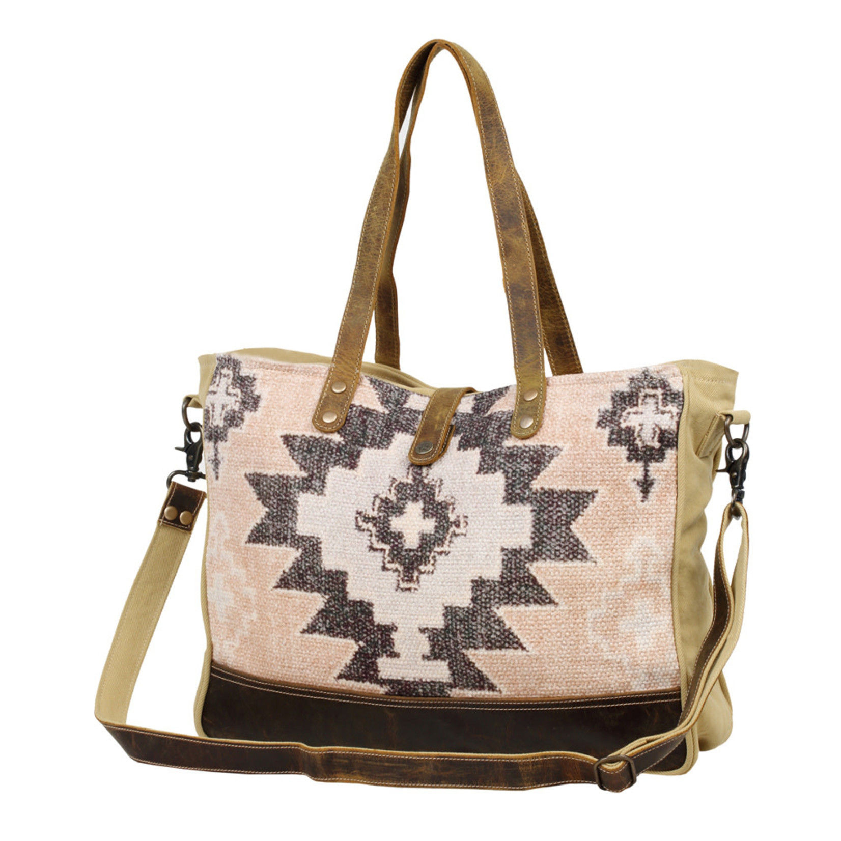Myra Bags S-2587 Smartness Overload Weekender Bag