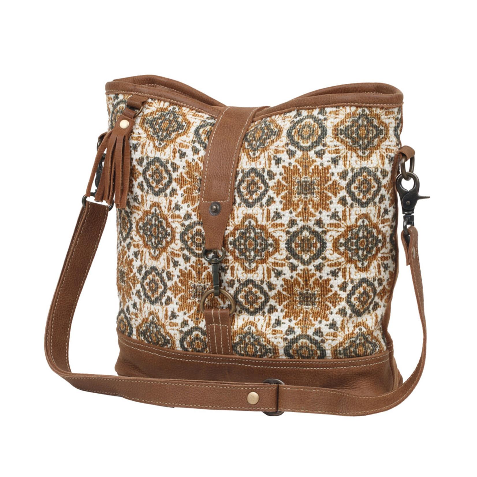 Myra Bags S-2546 Dipping Blocks Shoulder Bag