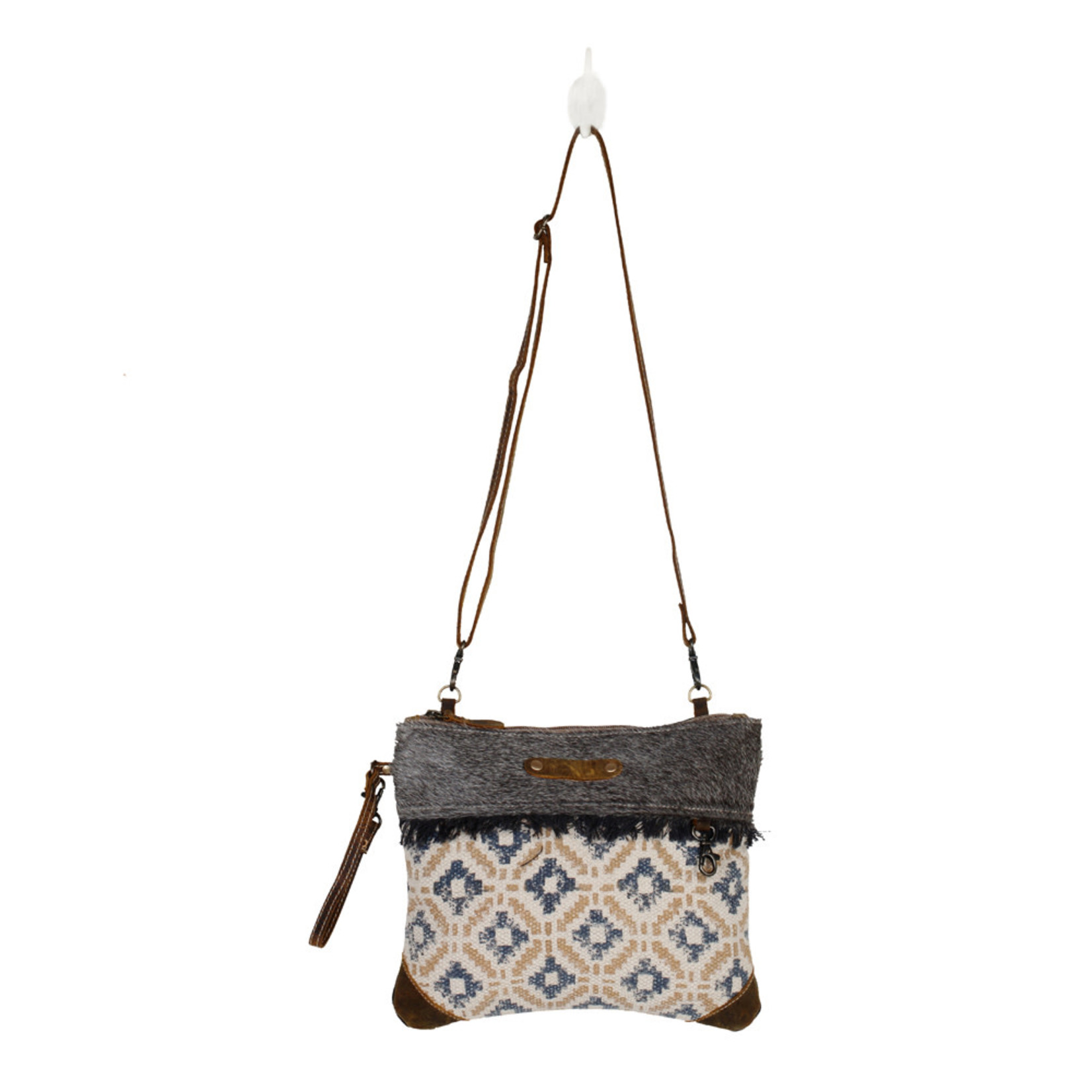Myra Bags S-2540 Pixels Small Crossbody Bag