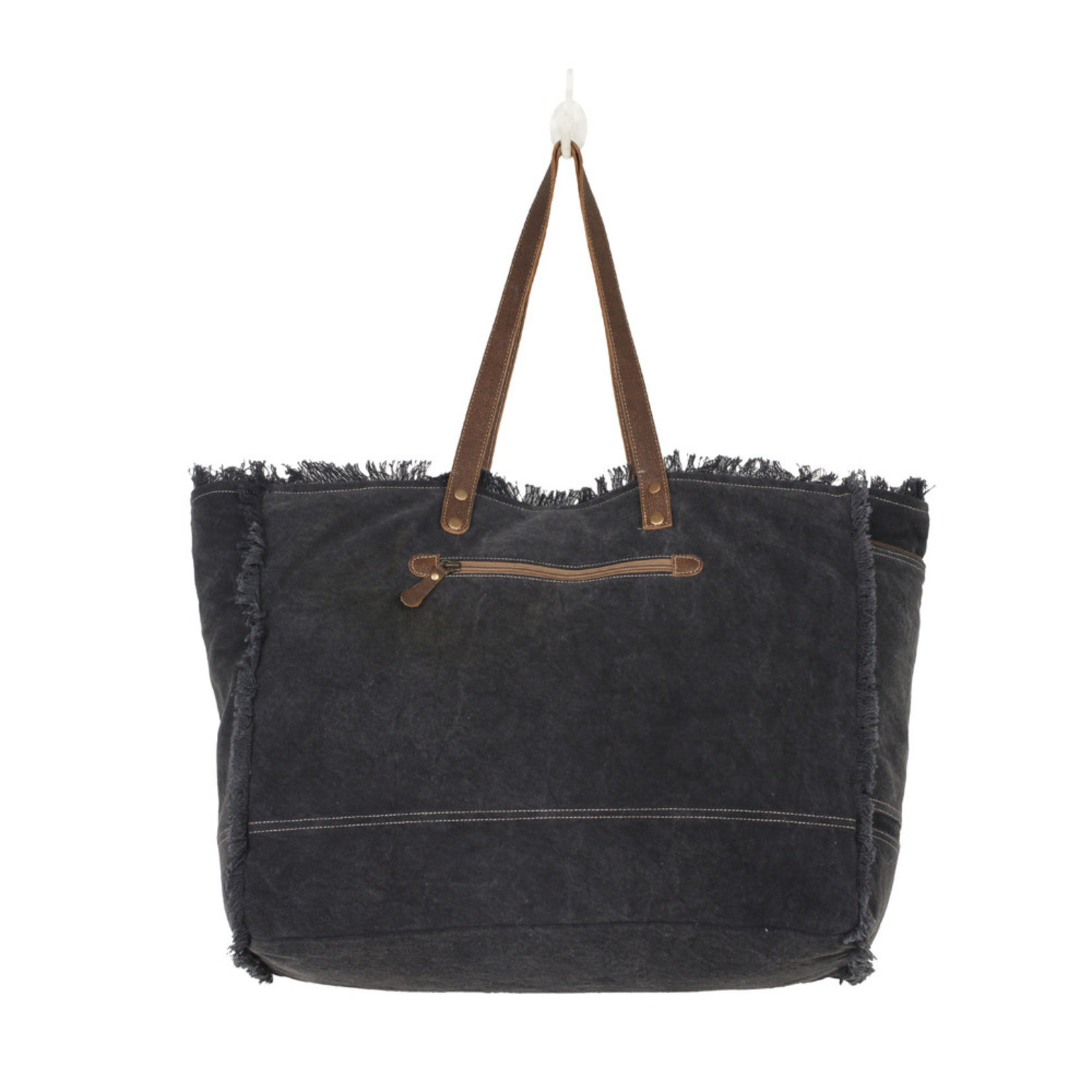 Myra Bags S-2531 Black Fern Weekender Bag