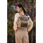 Myra Bags S-2207 The Brown Fantasy Backpack
