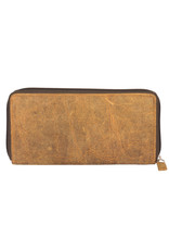 Myra Bags S-2171 It's All Brown Leather Wallet