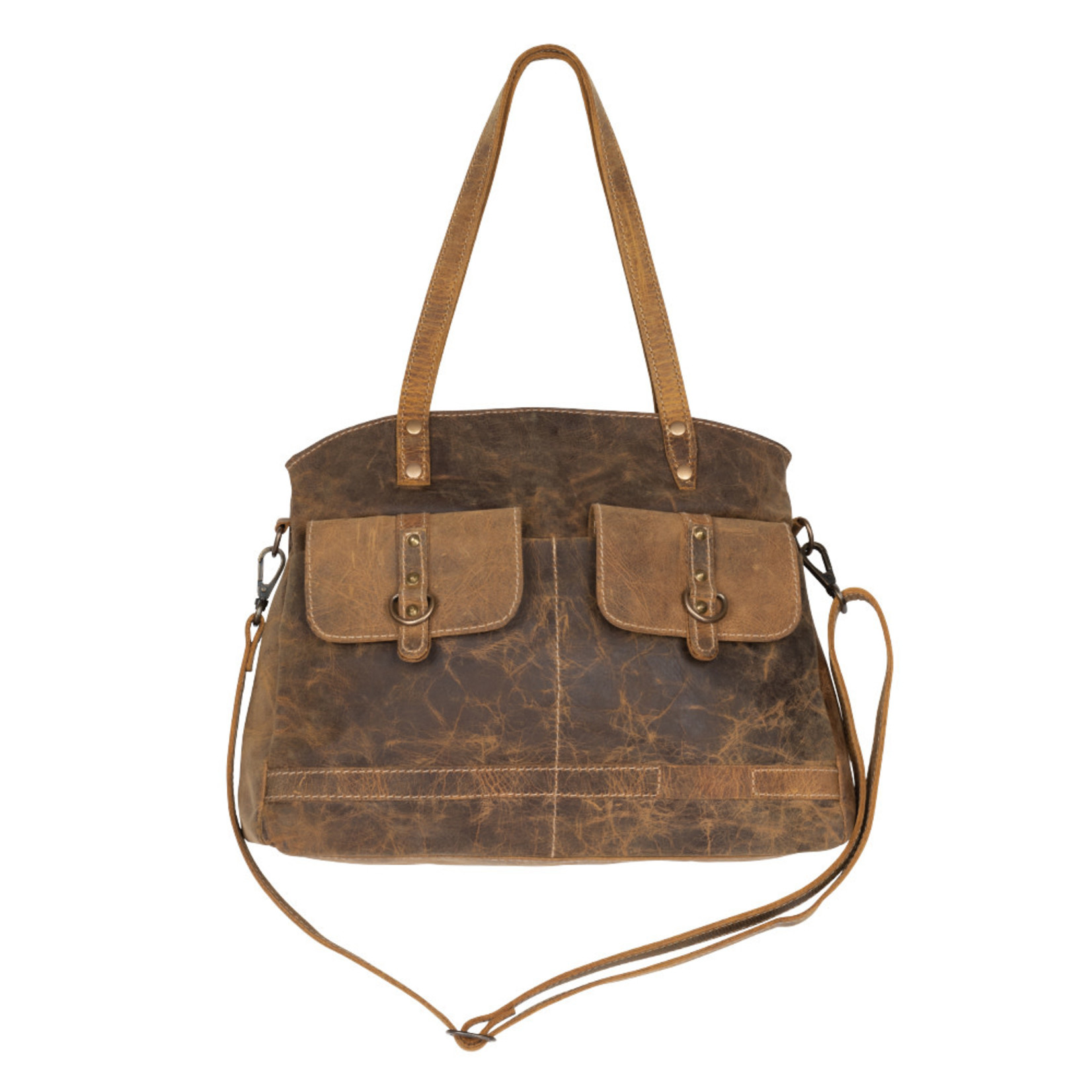 Myra Bags S-2166 Lady's First Love Leather Bag