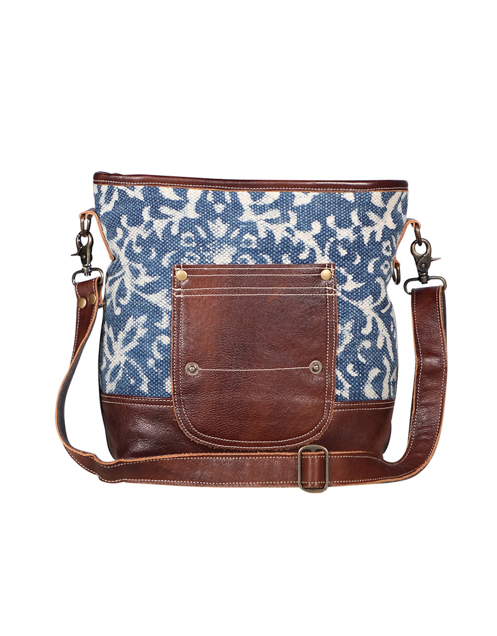 Myra Bags S-1950 Blue Bliss Shoulder Bag