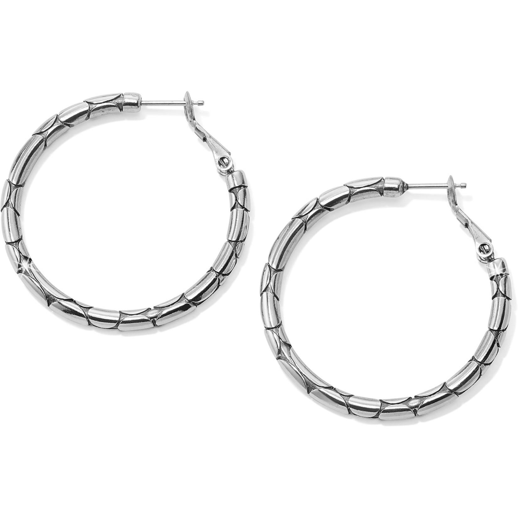 Brighton JA5420 Pebble Small Hoop Earrings