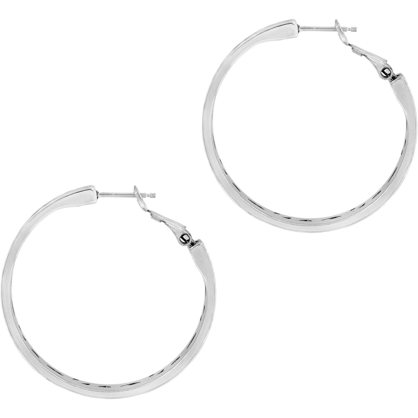 Brighton JA6453 Barbados Park Hoop Earrings