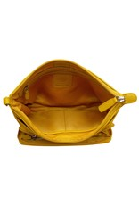 Leather Handbags and Accessories 6923 Yellow - The Traveler Crossbody