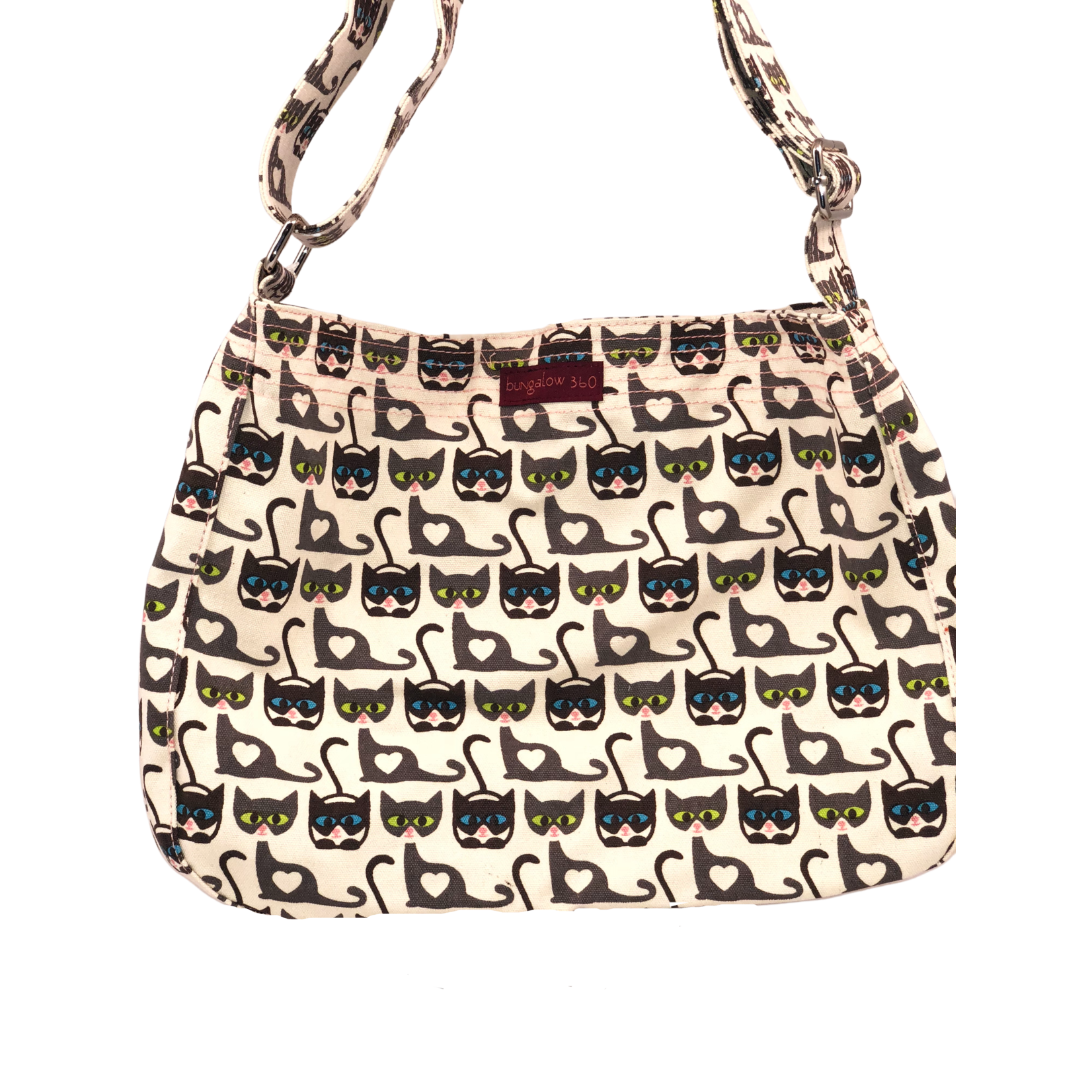 Bungalow 360 Messenger Bag - Cat