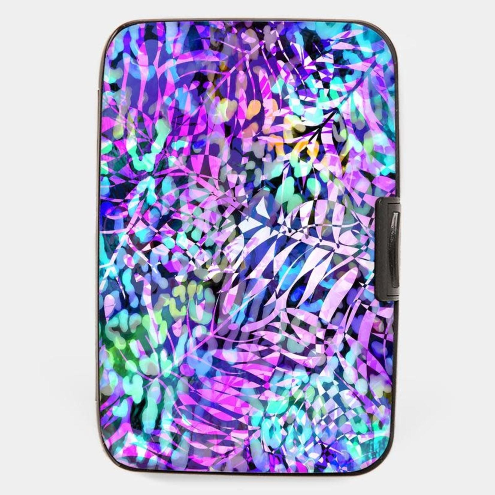 Monarque Armored Wallet - Floral Purple