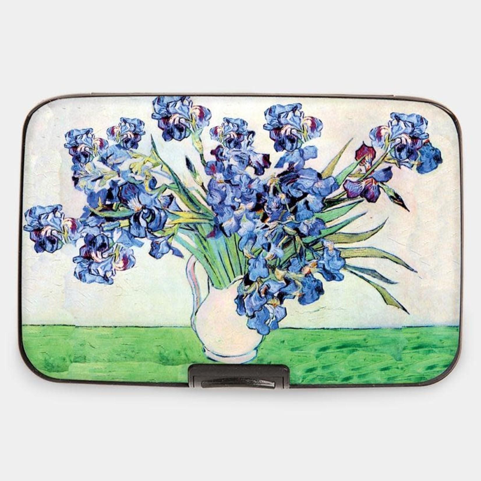 Monarque Armored Wallet - Van Gogh - Irises in Vase