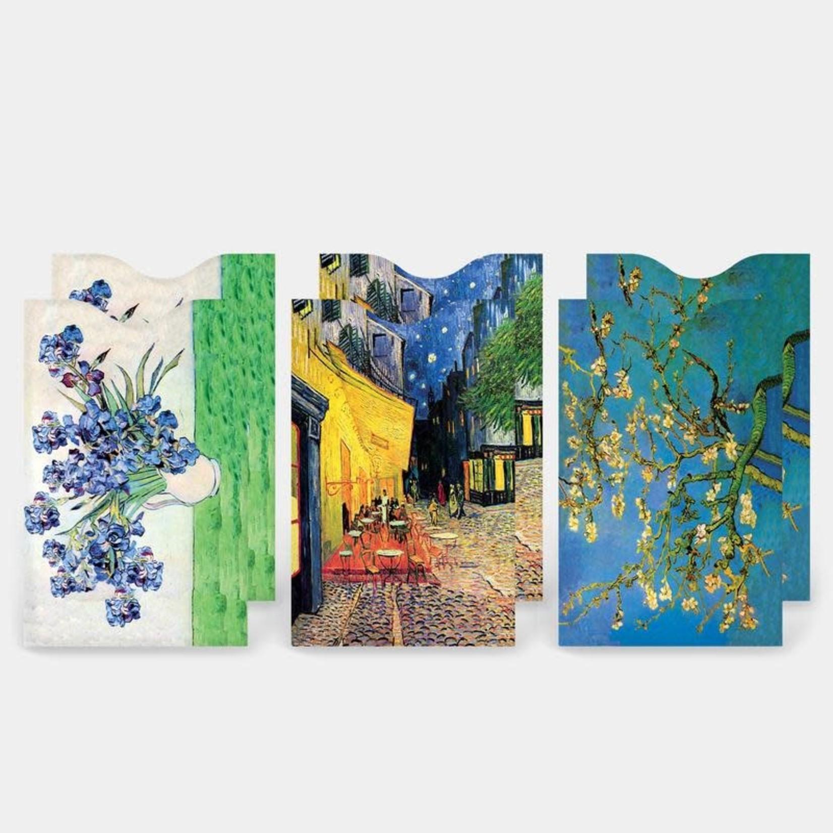 Monarque Set of 6 - Fine Art 4 Credit Card Sleeves