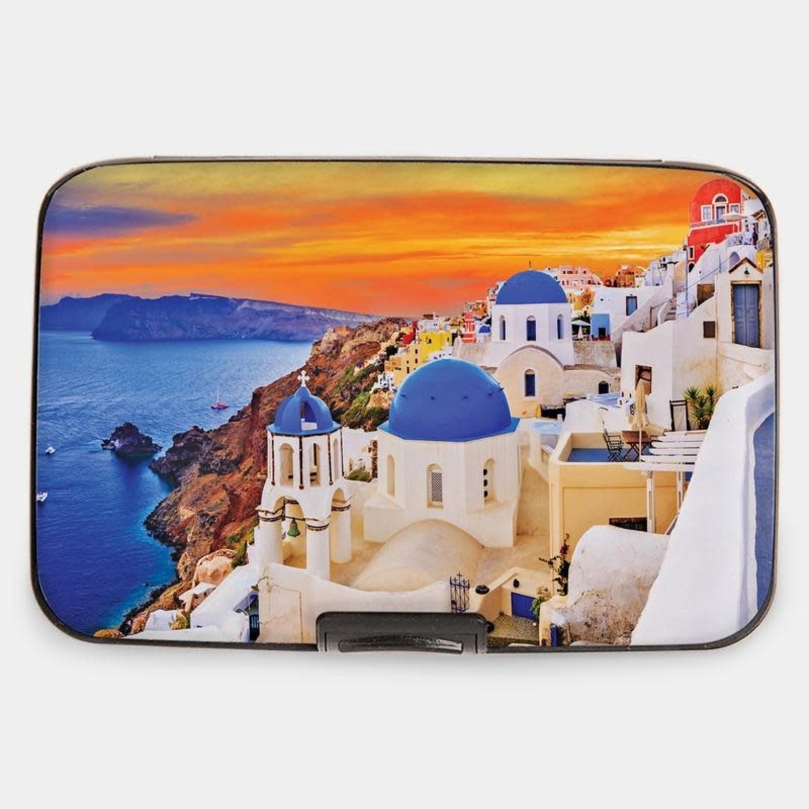 Monarque Armored Wallet - Travel Santorini