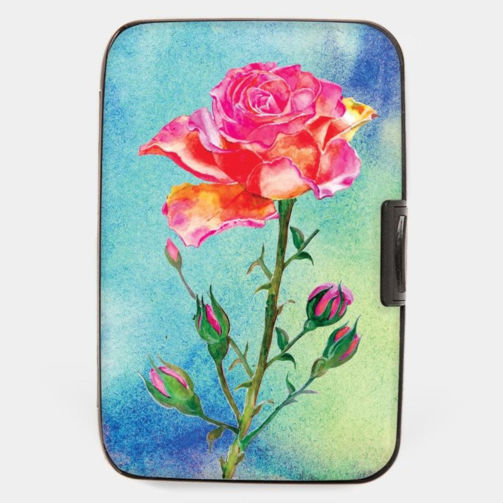 Monarque Armored Wallet - Painted Rose