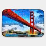 Monarque Armored Wallet - Golden Gate Bridge