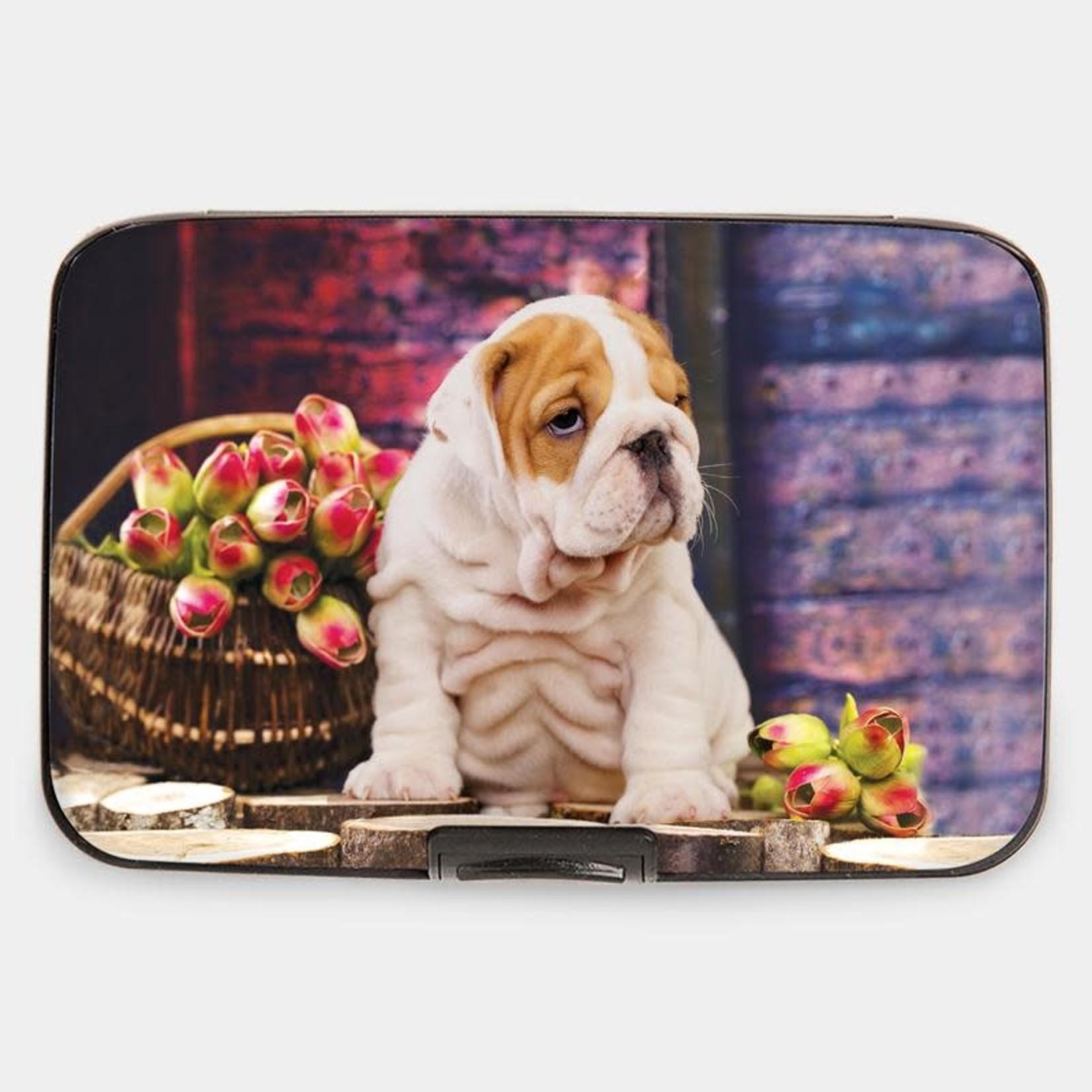 Monarque Armored Wallet - Puppies Bulldog