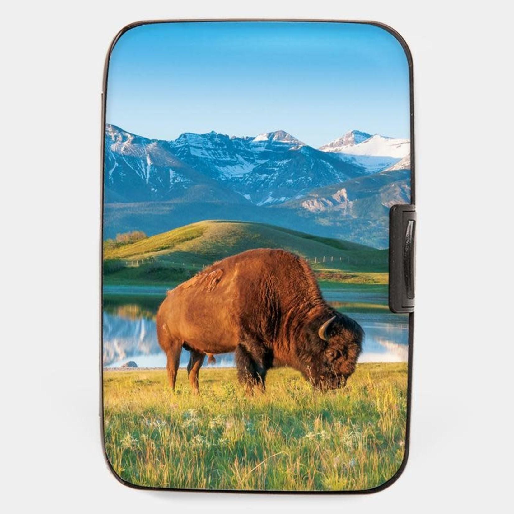 Monarque Armored Wallet - North American Bison