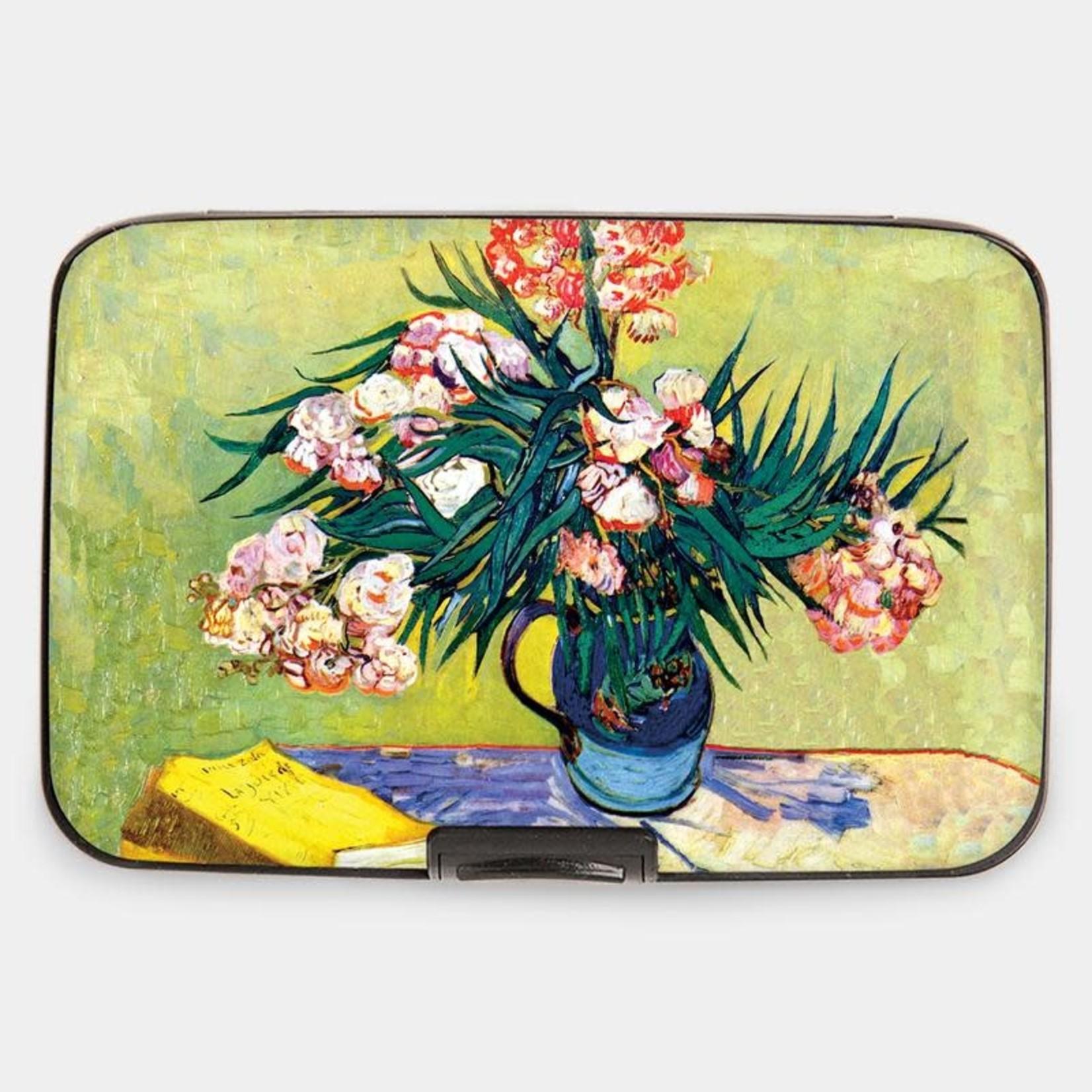 Monarque Armored Wallet - Van Gogh - Oleanders