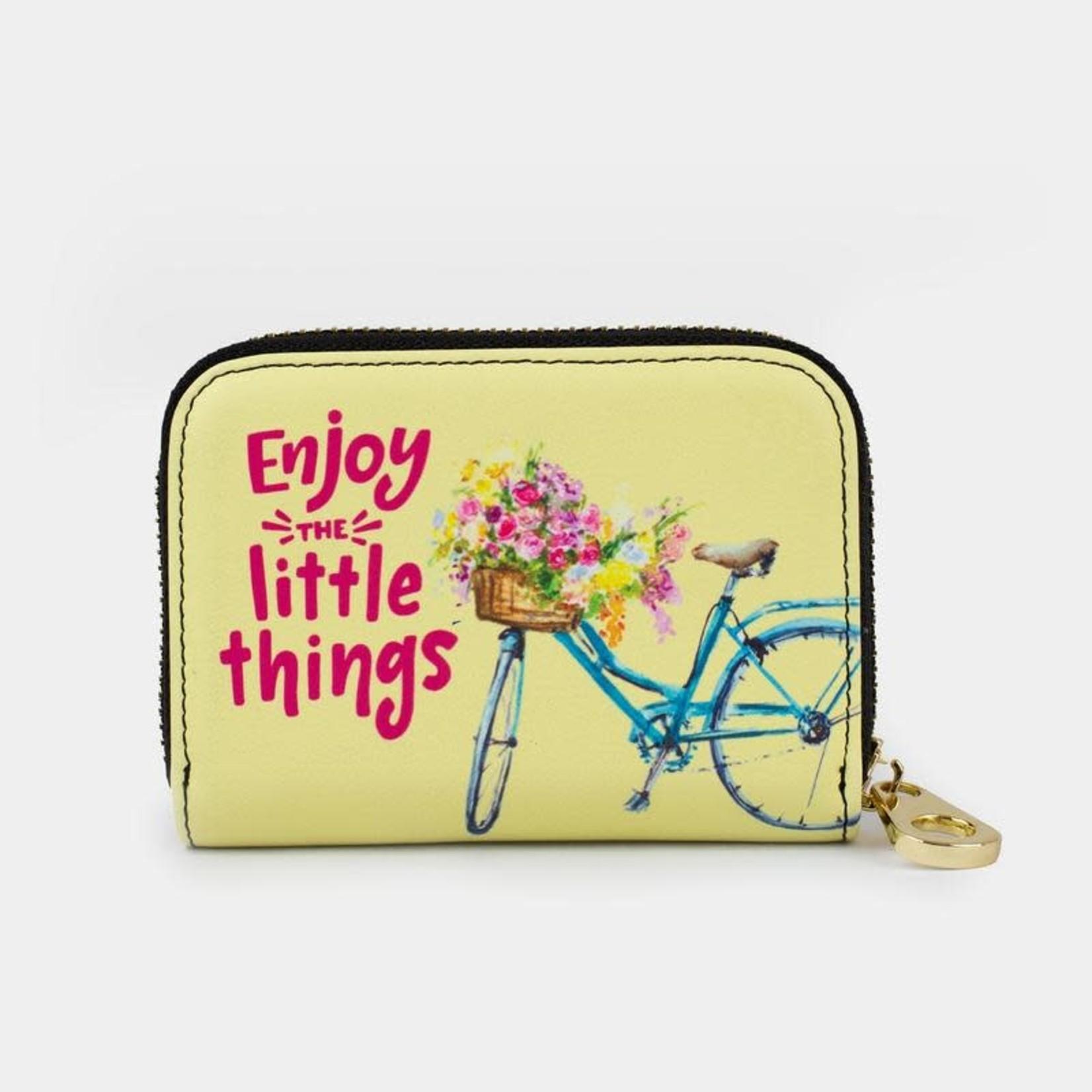 Monarque Zippered Wallet - Enjoy Little Things