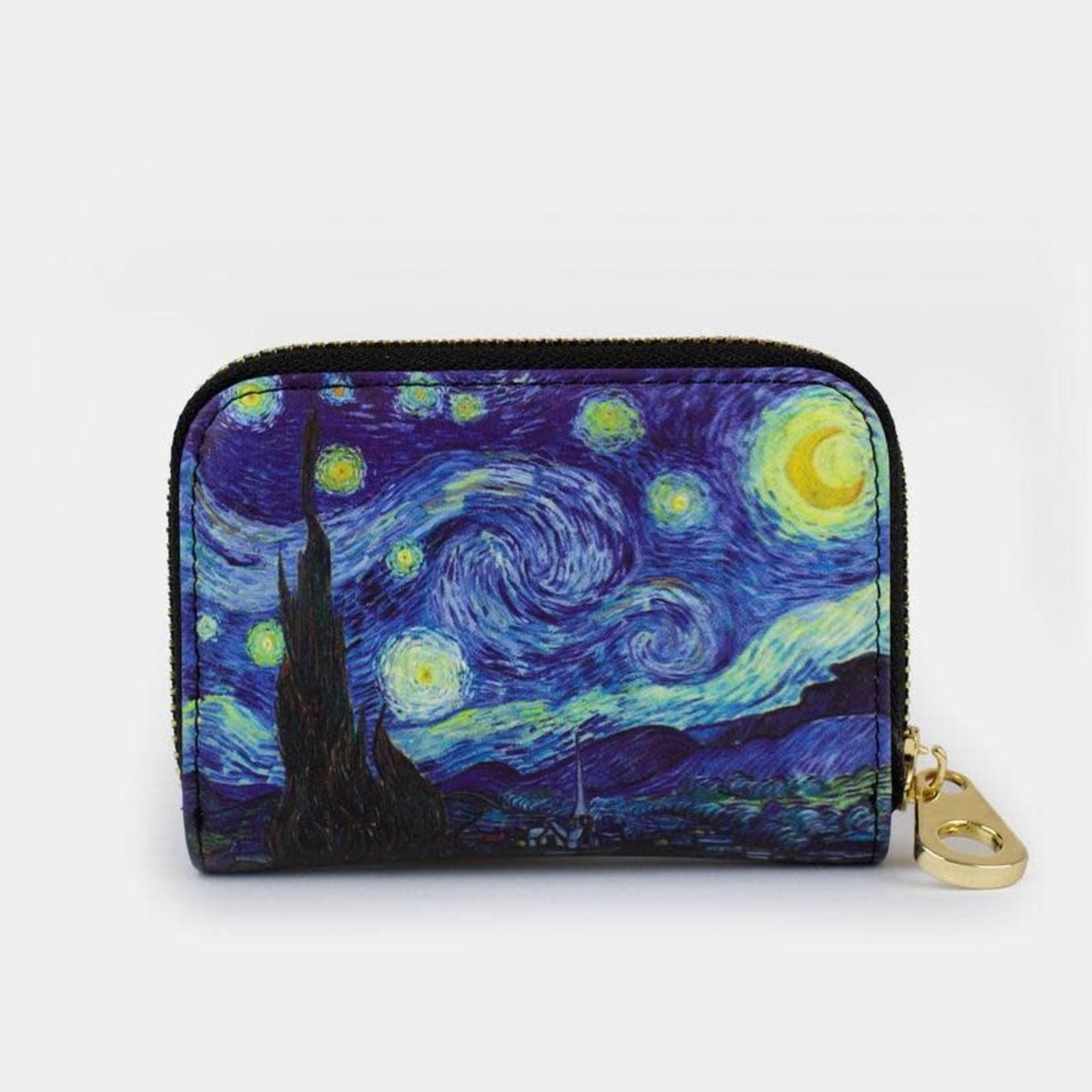 Monarque Zippered Wallet - Van Gogh - The Starry Night