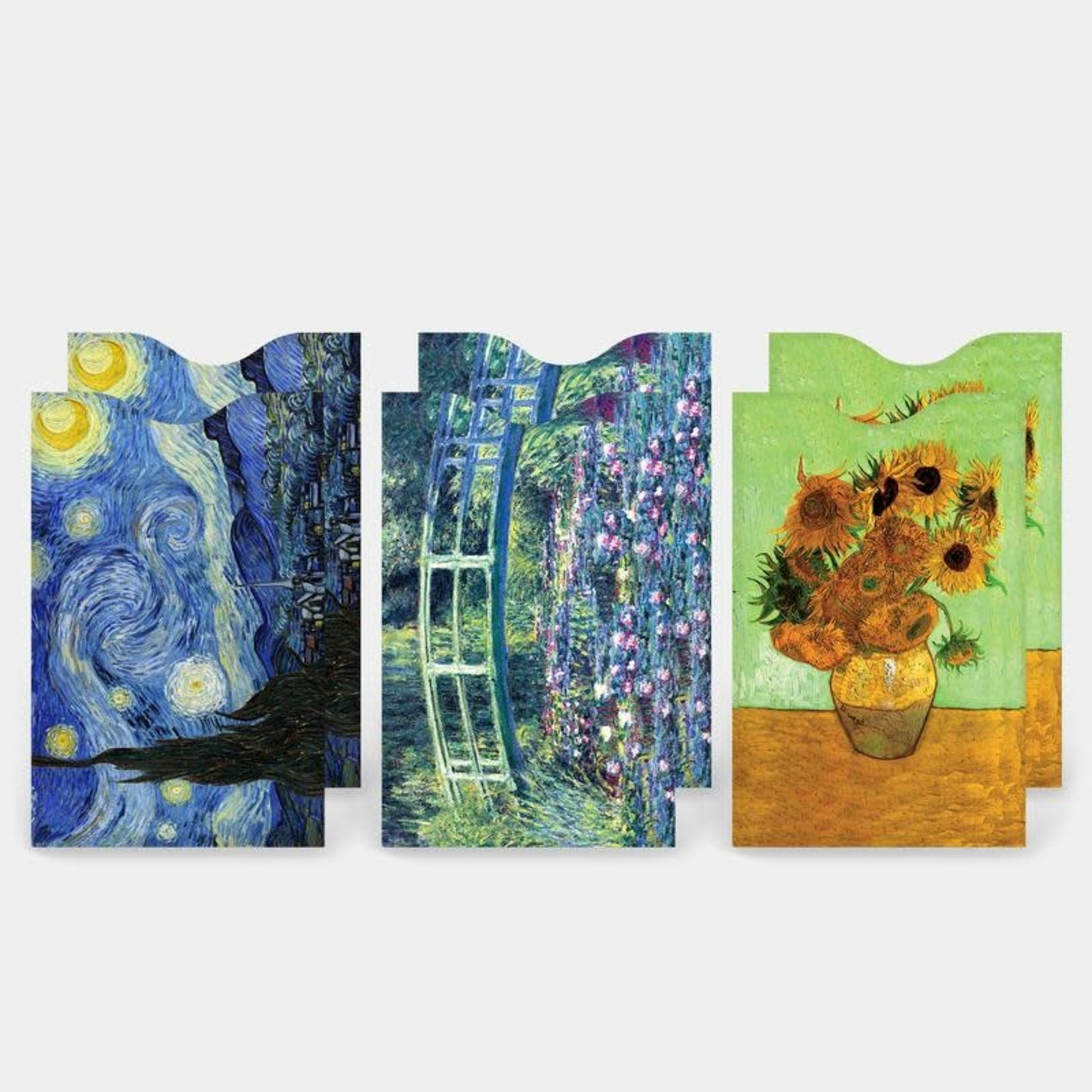 Monarque Set of 6 - Fine Art 1 Credit Card Sleeves
