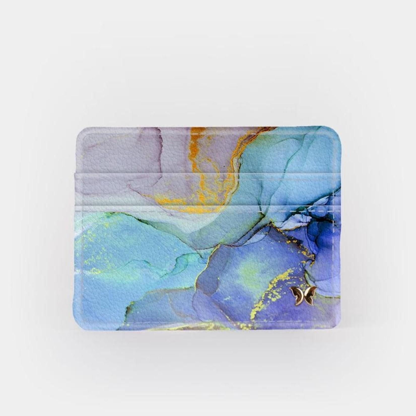Monarque Slim Wallet - Blue Marble