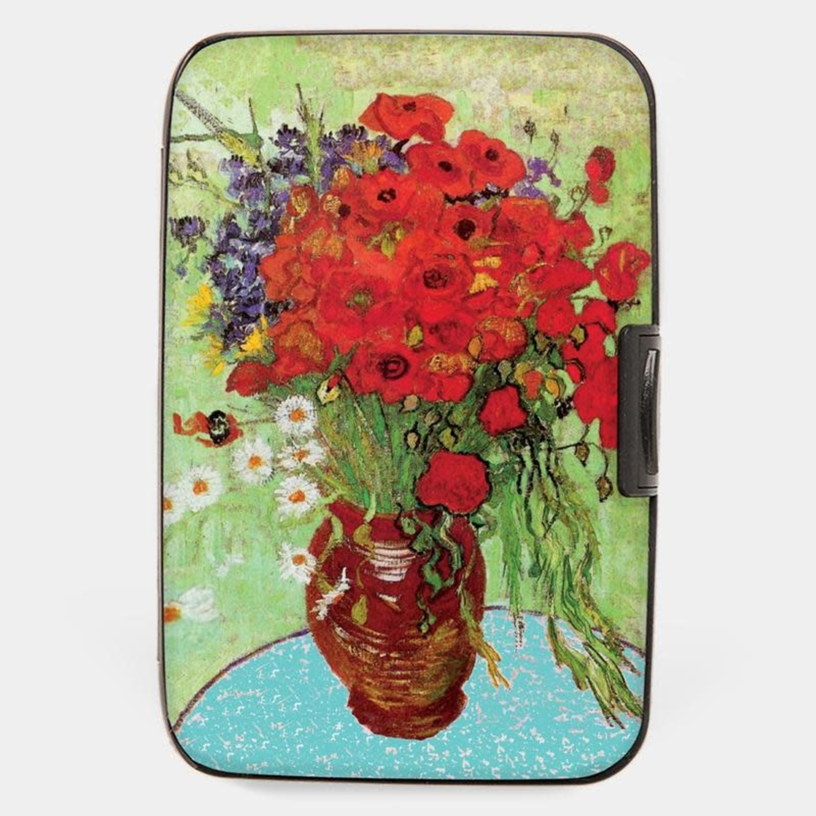Monarque Armored Wallet - Van Gogh - Daisies and Poppies