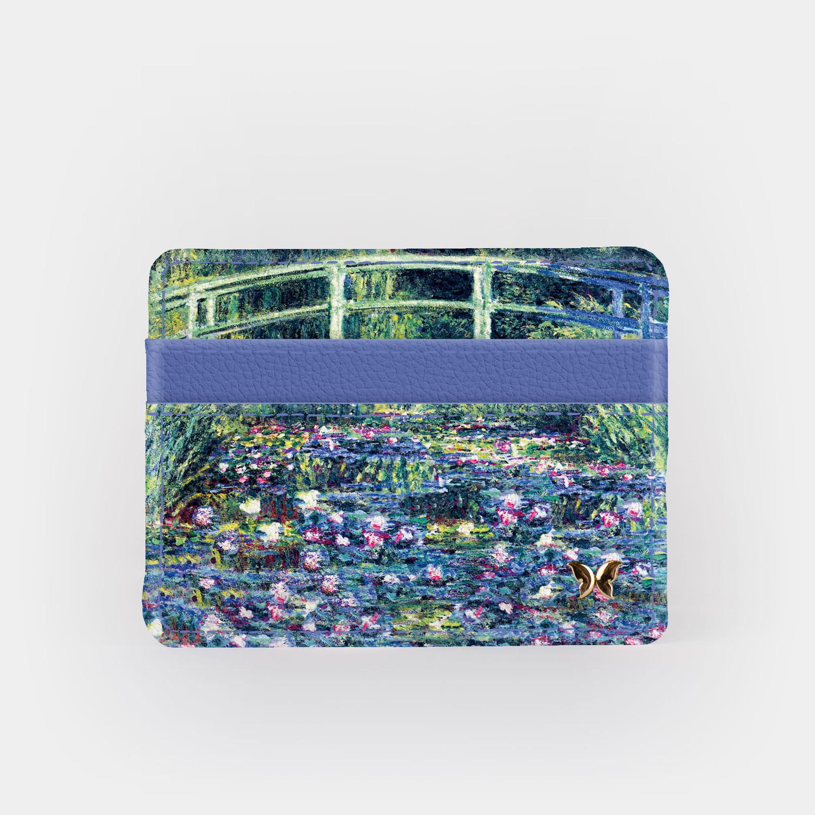 Monarque Slim Wallet - Monet - Water Lily Pond & Japanese Bridge
