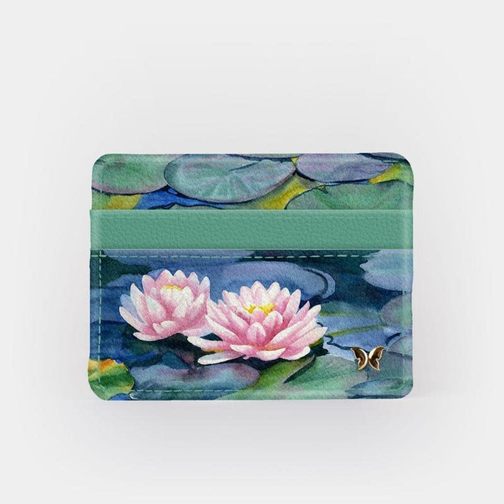 Monarque Slim Wallet - Water Lily