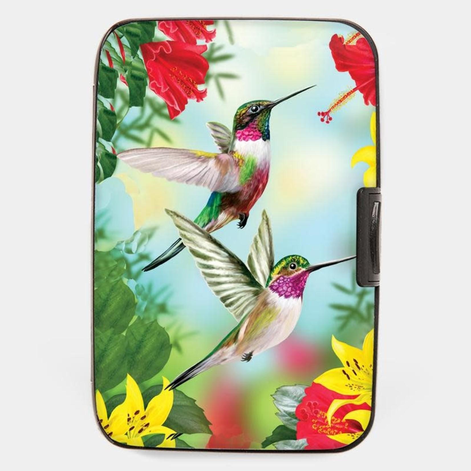 Monarque Armored Wallet - Hummingbird Red