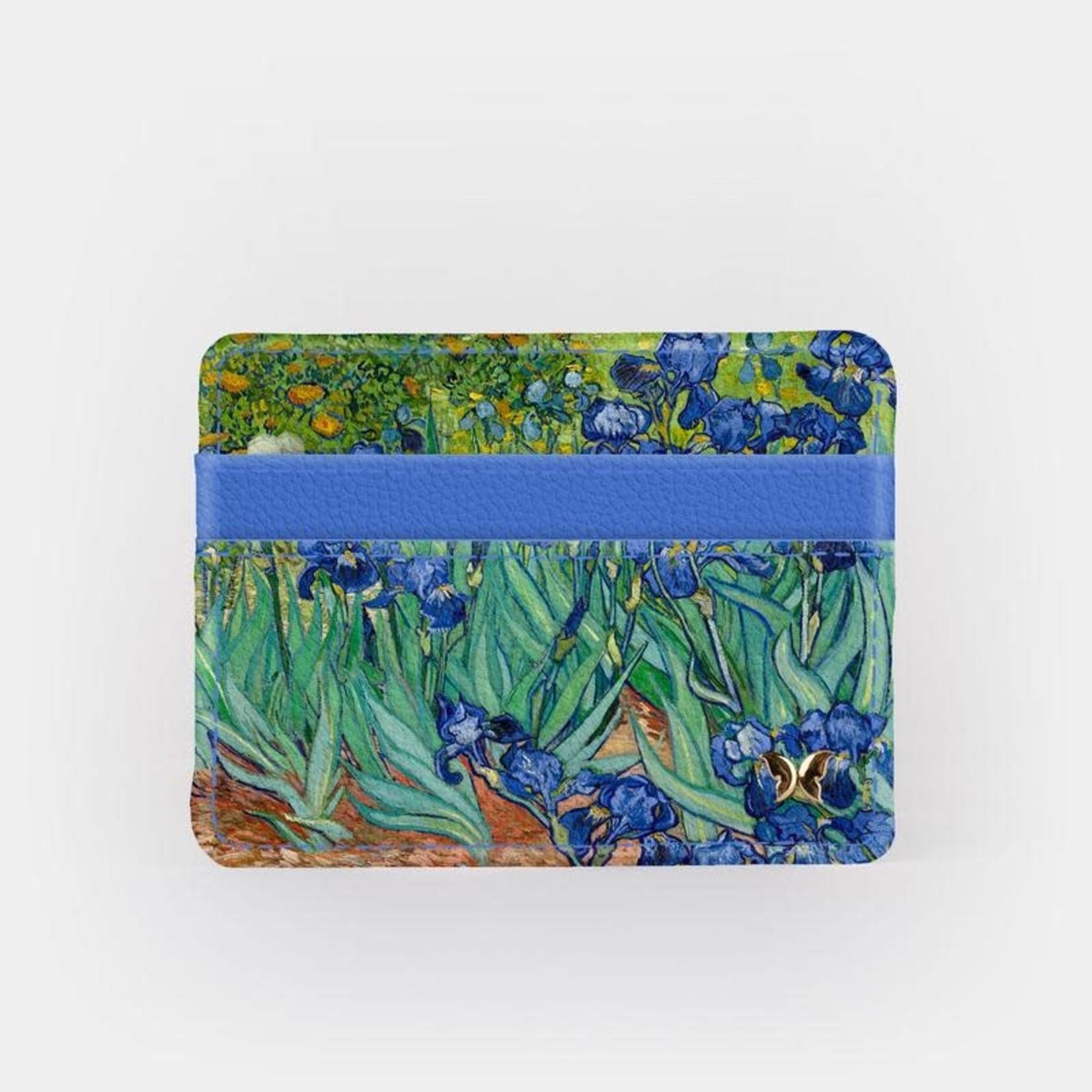 Monarque Slim Wallet - Van Gogh - Irises