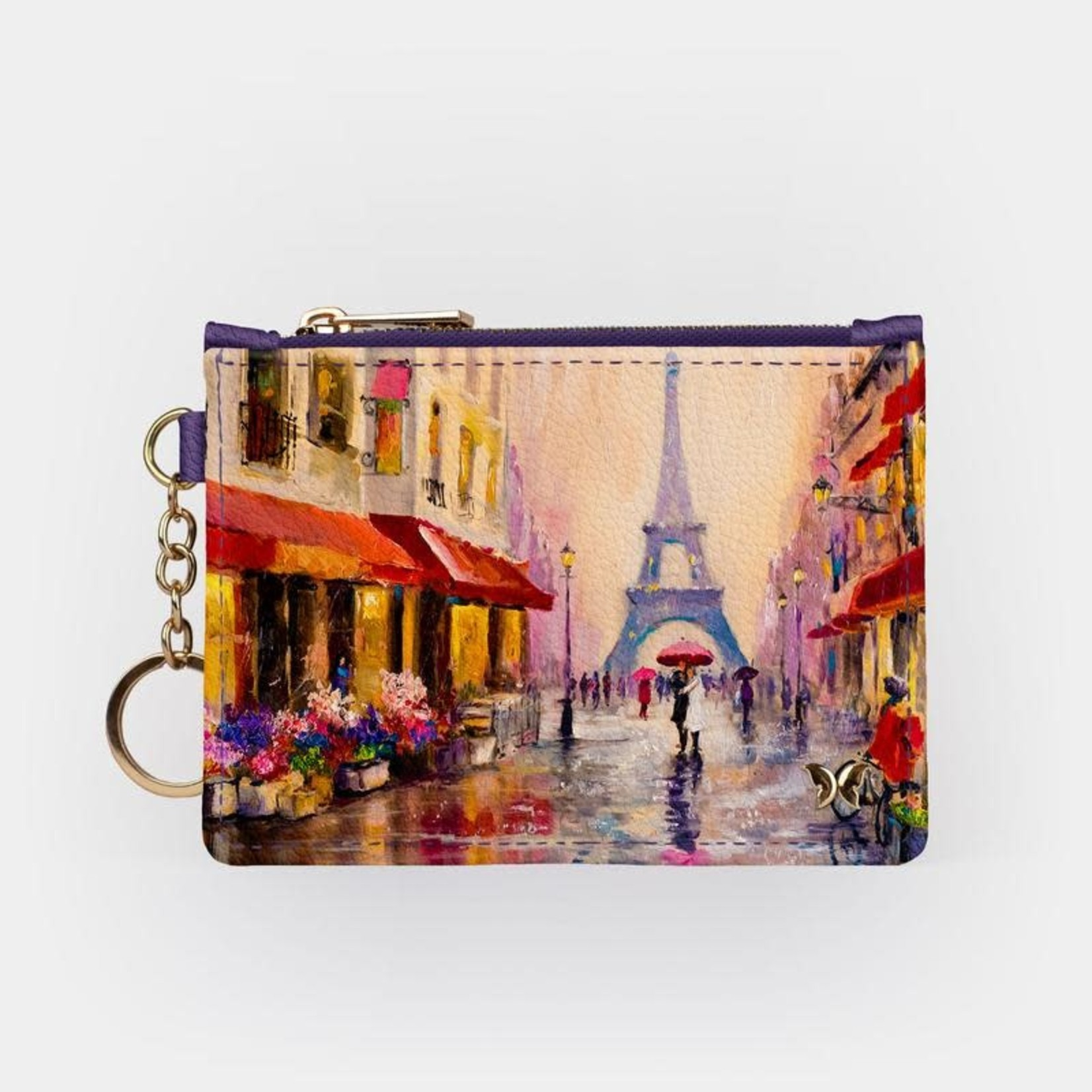 Monarque Keychain Wallet - Travel Paris