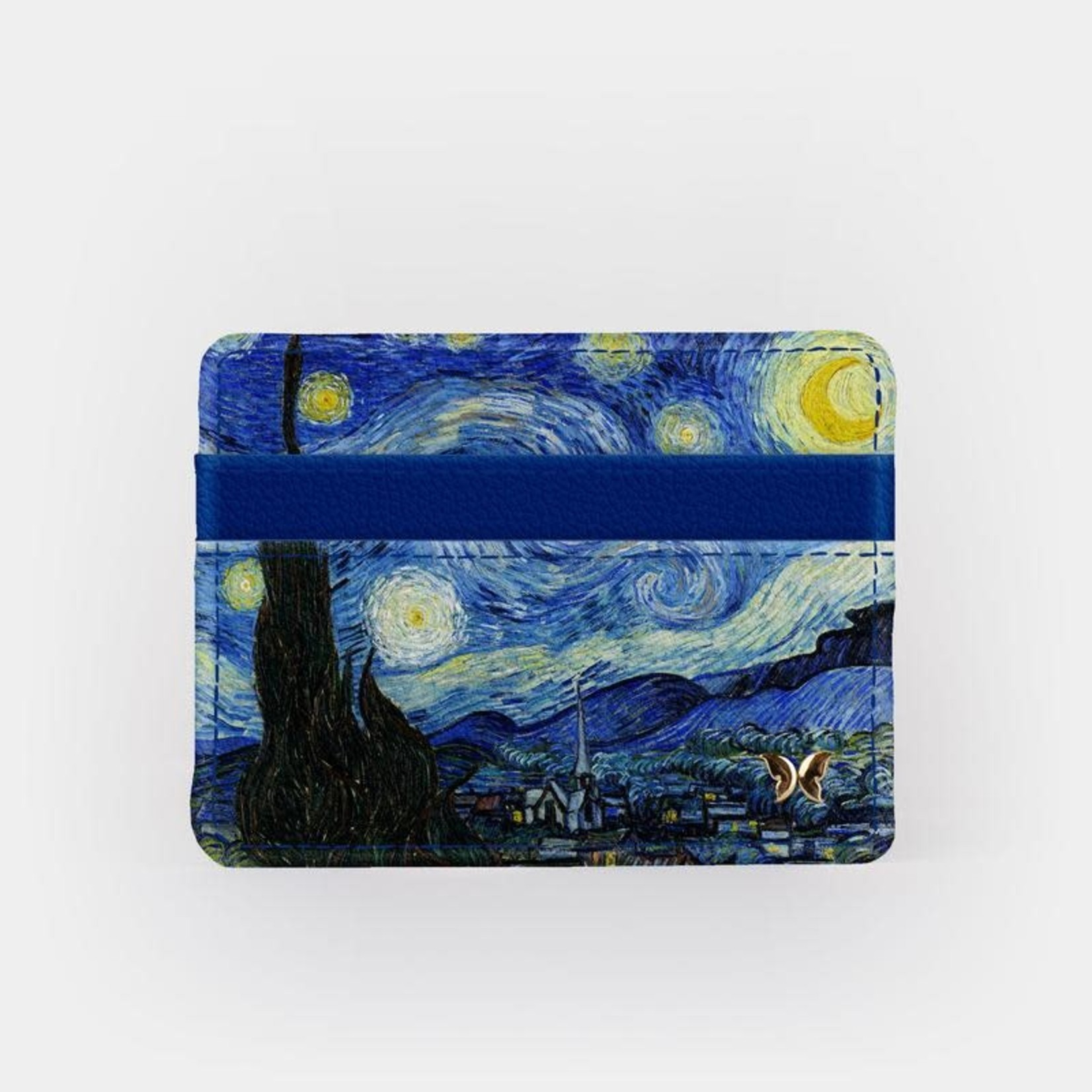 Monarque Slim Wallet - Van Gogh - The Starry Night