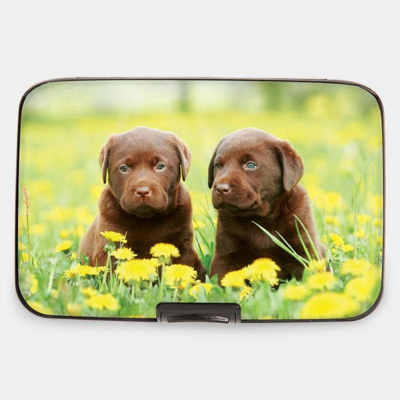 Monarque Armored Wallet - Puppies Labrador