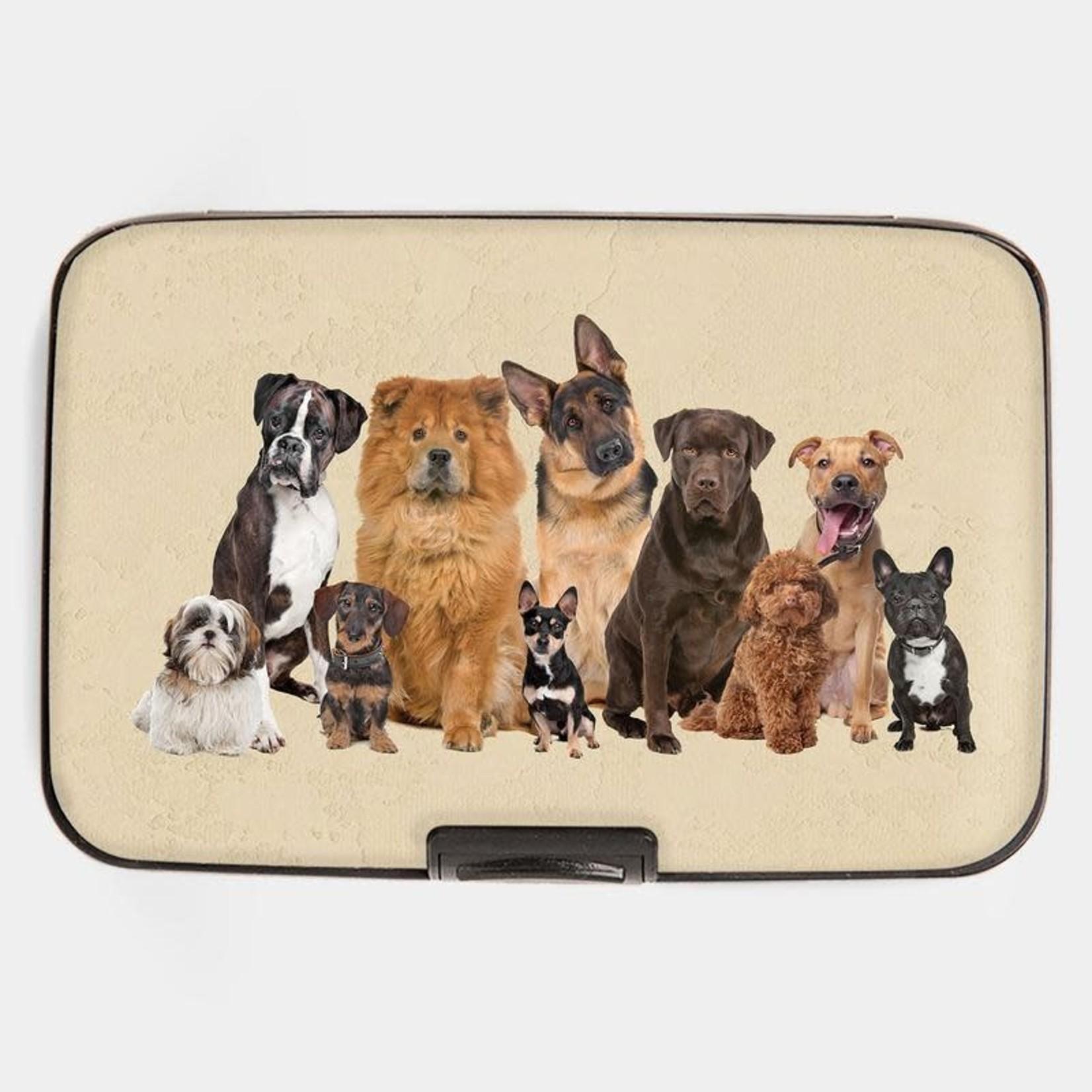 Monarque Armored Wallet - Dog Breeds