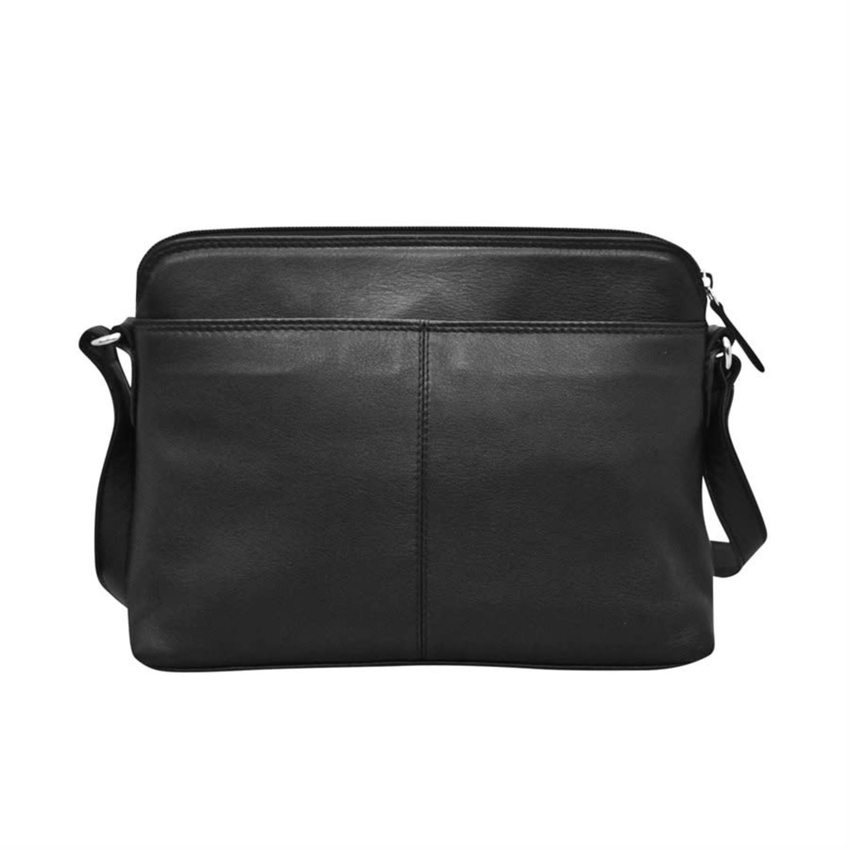 Leather Handbags and Accessories 6333 Walnut - Organizer Bag
