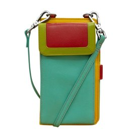 Leather Handbags and Accessories 6363 Citrus - RFID Organizer Crossbody