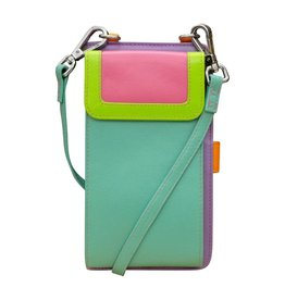 Leather Handbags and Accessories 6363 Palm Beach - RFID Organizer Crossbody