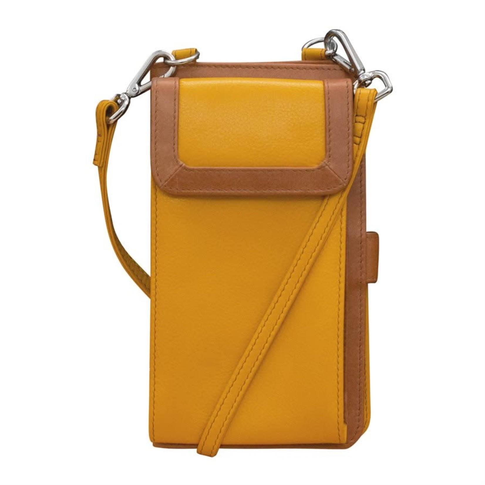 Leather Handbags and Accessories 6363 Yellowstone - RFID Organizer Crossbody