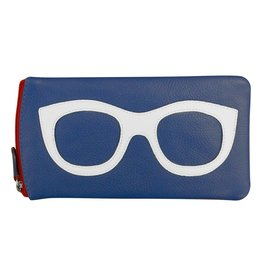 Leather Handbags and Accessories 6462 Nautical - Leather Eyeglass Case